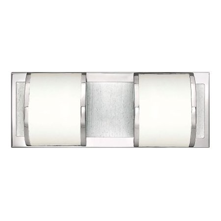 (Hinkley Lighting 56012 2-Light ADA Compliant Bathroom Fixture from the Mira Collection)