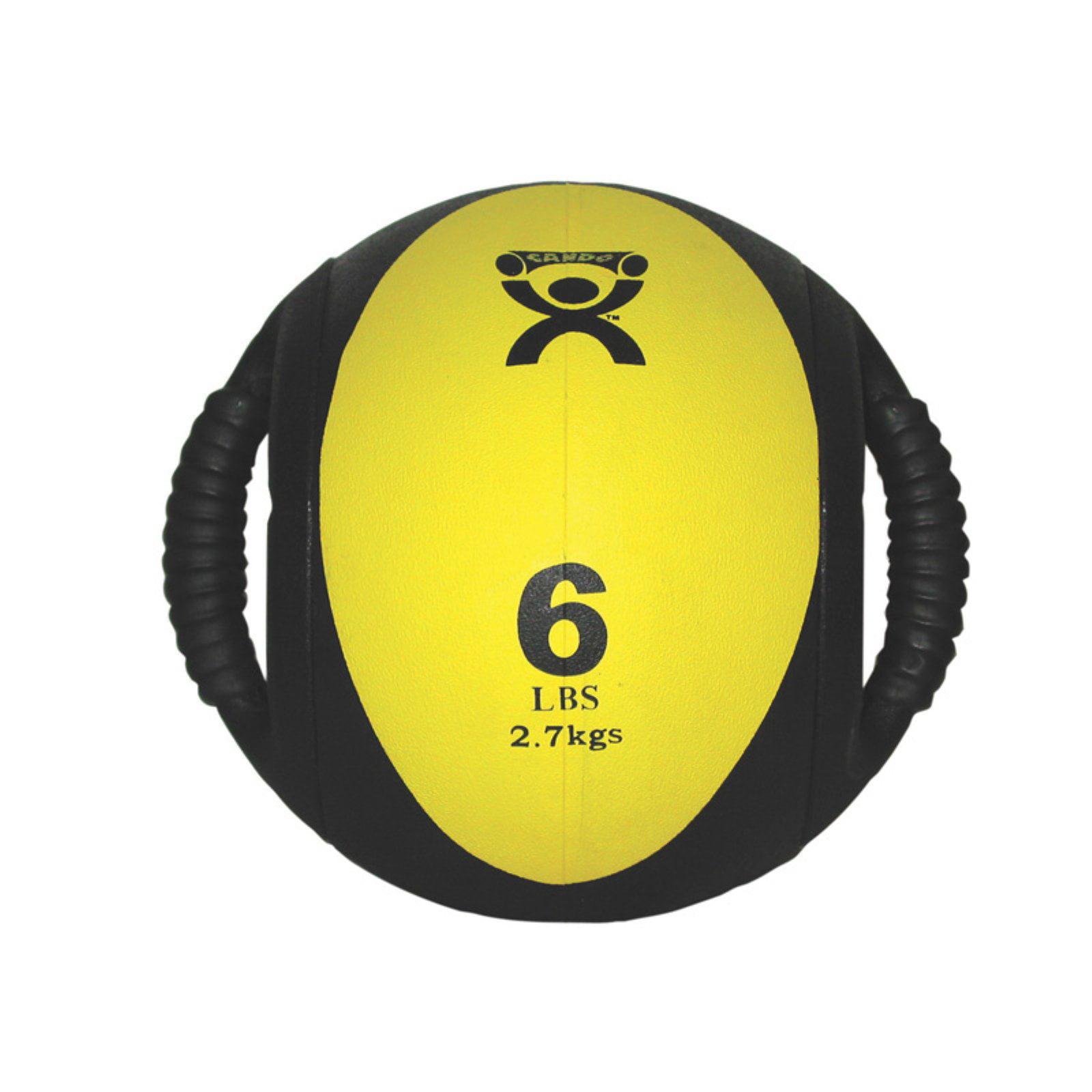 CanDo Dual Handle Medicine Ball