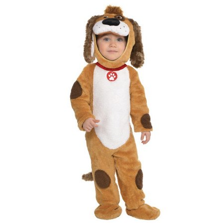 Matching Halloween Costumes For Babies And Dogs (Deluxe Playful Pup Costume Puppy Dog Infant 0-6 Months Costumes)