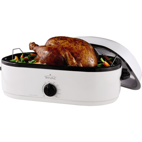 Rival 20-Pound Turkey Roaster with Capacity Maximizer