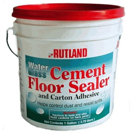 Cement Floors - Rutland 146 Water Glass Cement Floor Sealer for Fireplace
