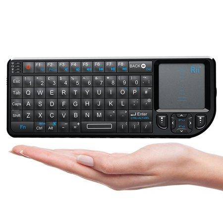 Rii Mini 2.4G Wireless Backlight Keyboard for Win/Mac/Android/TV/Xbox/PS3 (mini