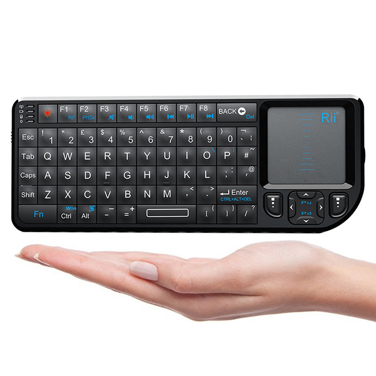 Rii Mini 2.4G Wireless Backlight Keyboard for Win/Mac/Android/TV/Xbox/PS3 (mini V3)
