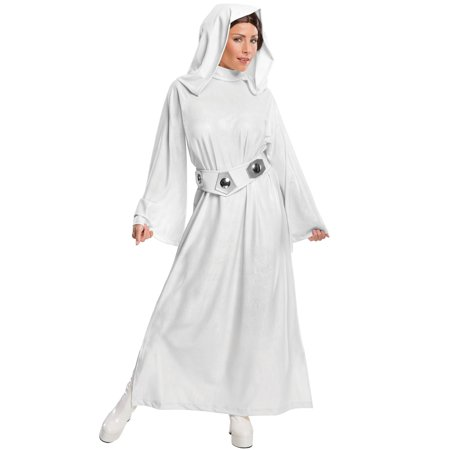 Princess Leia Hooded Dress Adult Costume - Lei Costume