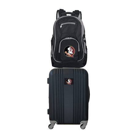 NCAA Florida State Seminoles 2-Piece Luggage and Backpack Set
