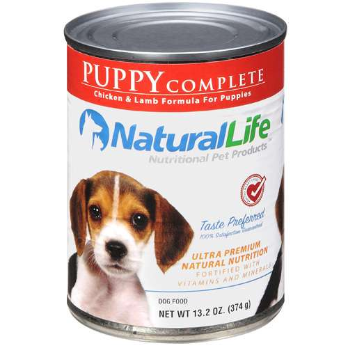 Natural Life: Puppy Complete Chicken & Lamb Dog Food, 13.2 Oz