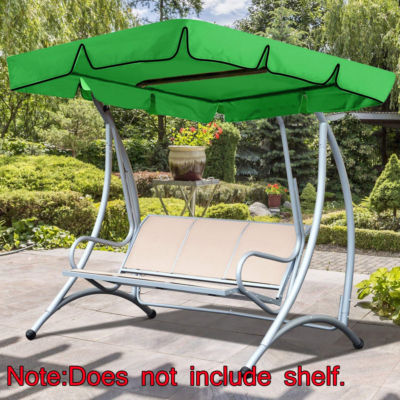 Heavy Duty Counter Stools, Outdoor Patio Swing Canopy Porch Garden Bench Hammock Top Cover Replacement Not Include Shelf Walmart Com Walmart Com