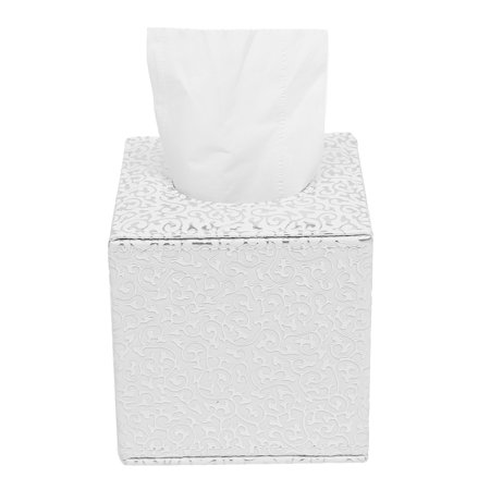 Moaere Leather Tissue Box Toilet Paper Napkin Cover Case Holder Home Car Office Decor