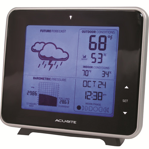 Click here to buy Chaney AcuRite Wireless Forecast Digital Weather Station by Chaney Instruments.