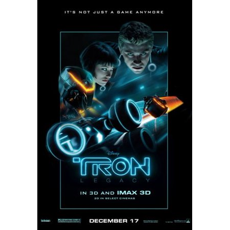 Tron Legacy Movie Poster Metal Sign 8in x (Legato Metal)