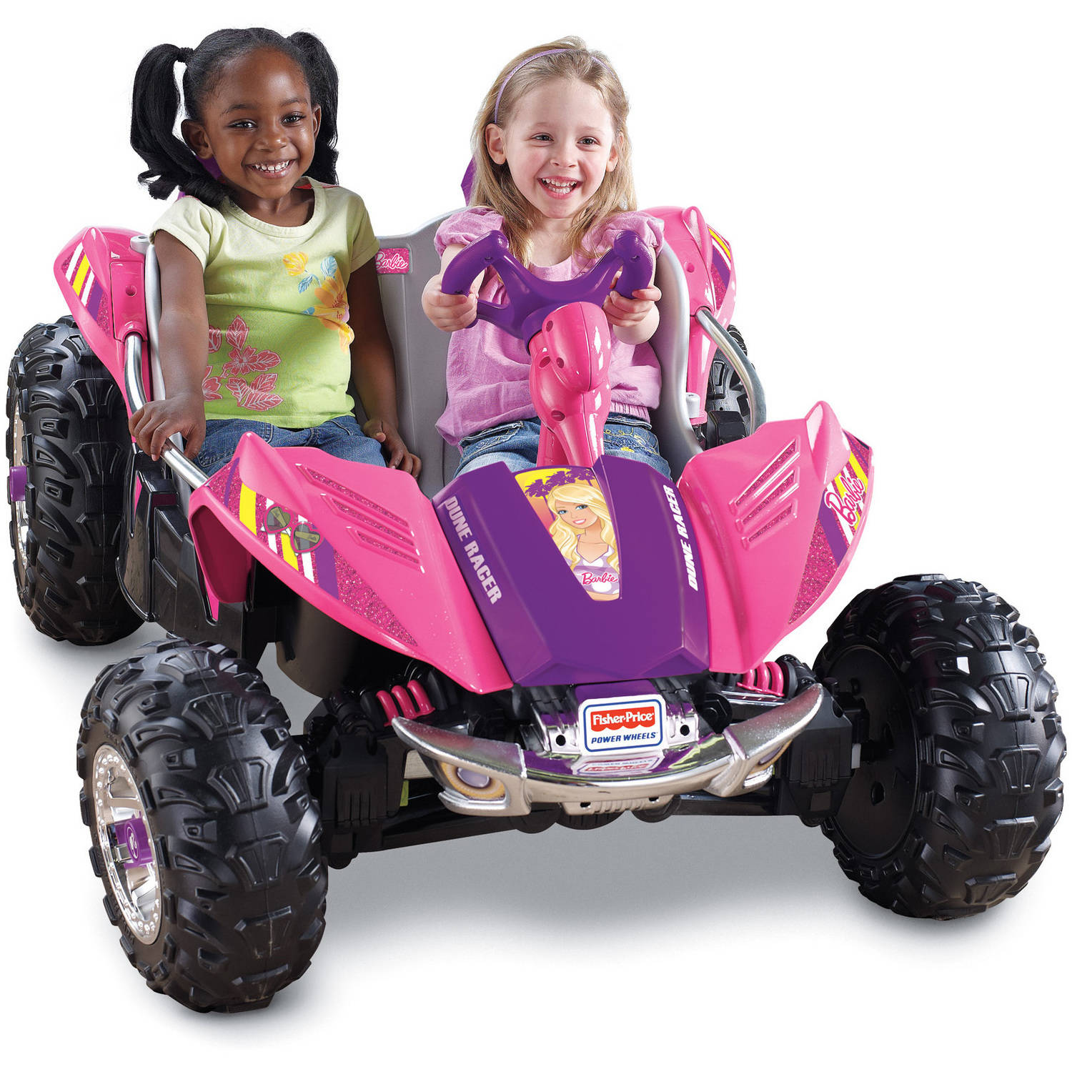 Power Wheels Barbie Dune Racer Battery-Operated Ride-On