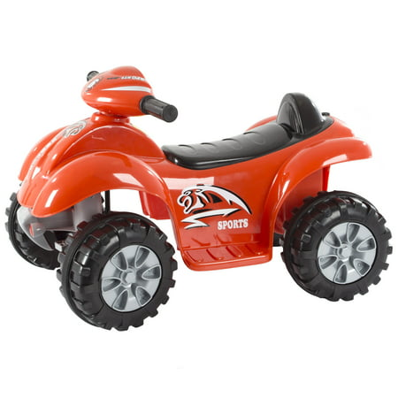 Ride On Toy Quad Atv Battery Powered Dinosaur Four Wheeler Toy With