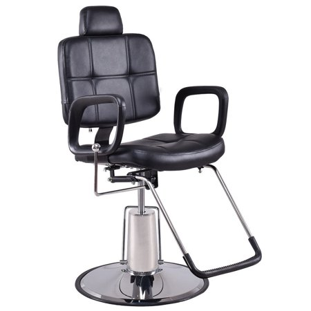 Goplus Reclining Hydraulic Barber Chair Salon Beauty Spa Shampoo Styling Equipment New