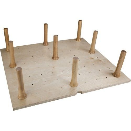 "Hardware Resources Peg Board With 12 Pegs 30-1/4"" W X 21-1/4""L X 6-5/8""H Peg-12"