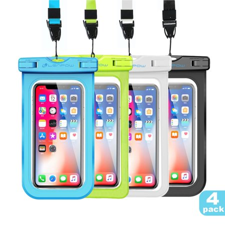 9439559fe2 Waterproof Case, New Type PVC IPX8 Water proof Phone Pouch, Universal Clear Cell  Phone Dry Bag for iPhone X 8 ...