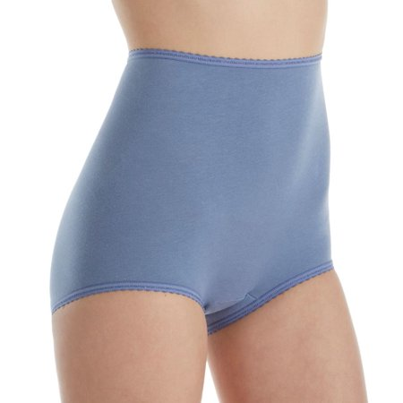 Women's Bali 2332 Cool Cotton Skimp Skamp Brief Panty (Bali Cotton Panties)