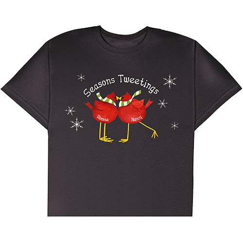 Personalized Seasons Tweetings T-Shirt