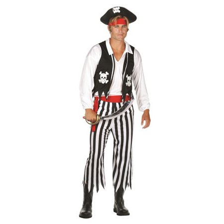 Adult Pirate Man Costume - Adult Male Pirate Costume