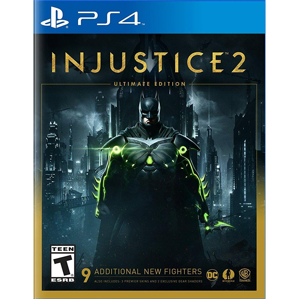 Warner Brothers injustice 2 ultimate edition - playstation 4