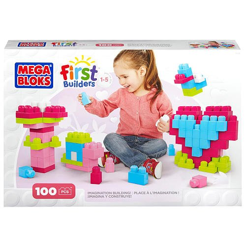 Mega Bloks First Builders IMagination Building Pink by USA