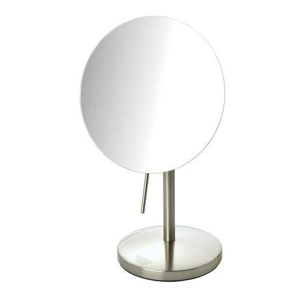 5X Makeup Mirror, Nickel