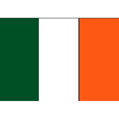 3x5 FT Irish Ireland Flag Made with Printed Nylon Flag Ships Fast, Flag is Fully Printed Made with EconNylon™ By EconNylonTM American Flag (American Flag Made Of Baseballs For Sale)