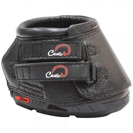 cavallo horse & rider simple slim sole hoof boot, size 6