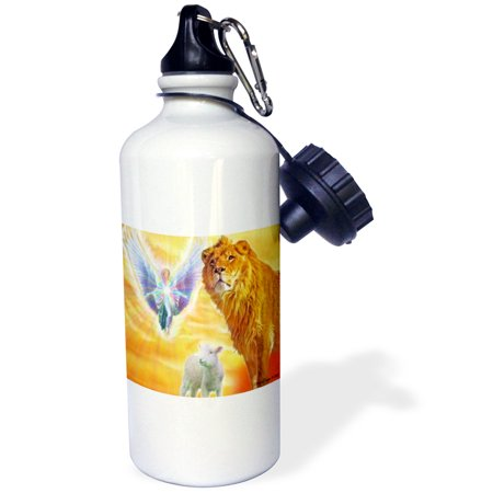 3dRose The Lamb of God, Sports Water Bottle, 21oz