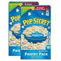 Pop Secret Microwave Popcorn, Homestyle, 36 Ct