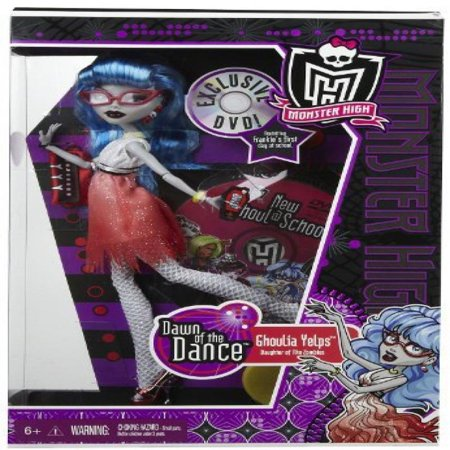monster high dawn of the dance ghoulia yelps doll in exclusive