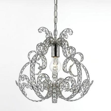 Af lighting cecil 12 light chandelier corporate perks lite perks af lighting splendor 1 light mini chandelier clear glasschrome aloadofball Gallery