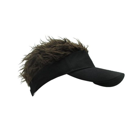 Unique Wig Baseball Hat Hook with Loop Adjustable Sun Visor Cap Outdoors