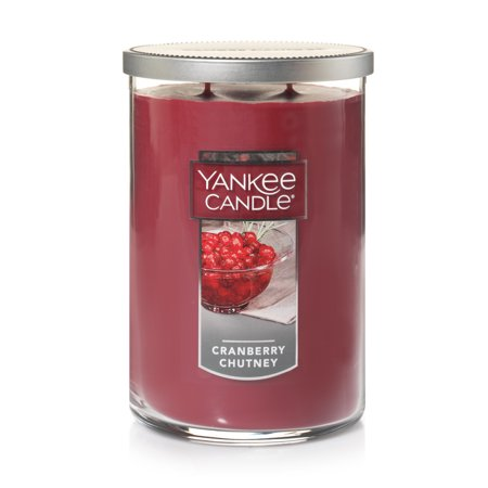 Yankee Candle Large 2-Wick Tumbler Candle, Cranberry Chutney - Yankee Candle Halloween Party 2017