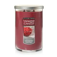 Product Image Yankee Candle Large 2 Wick Tumbler Cranberry Chutney