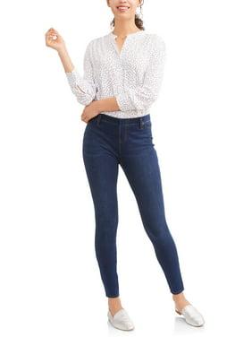 Women's Full Length Soft Knit Color Jegging