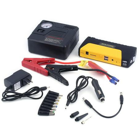 International Group Portable Car Jumper Starter Emergency Booster Power Bank Battery With Compressor Kit