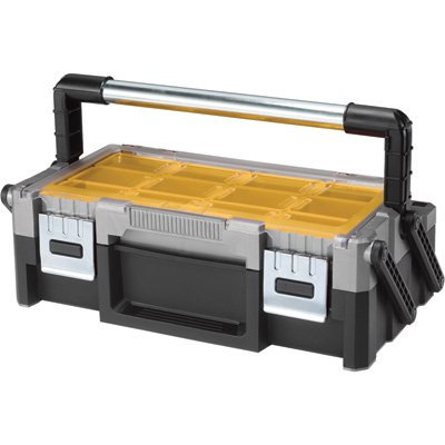 17186819 18-Inch Cantilever Tool Box, 18 Removable Bins in 2 Sizes: 6 Deep, 12 Standard By Keter