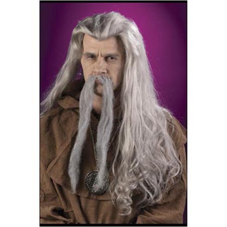 Wizard Gray Wig FunWorld 8194 - Wizard Of Oz Lion Wig