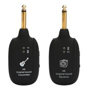 A8 UHF Wireless Guitar Transmitter Receiver Set 730mhz 50M for Electric Guitars Bass Violin