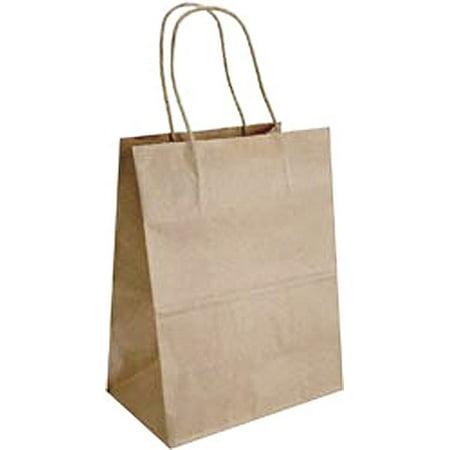 Baker S Dozen Medium Gift Bags 13 Pack Kraft Walmart Com