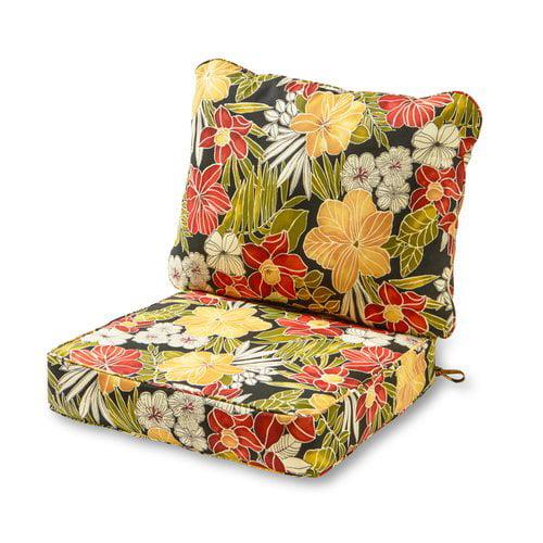 Greendale Home Fashions Deep Seat Cushion Set Walmart