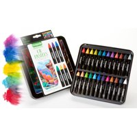 Crayola 24 Count Signature Oil Pastels With Decorative Tin