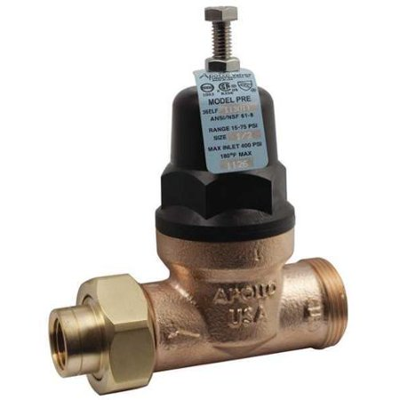apollo water pressure reducing valve lead free bronze 36elf11501t walmart. Black Bedroom Furniture Sets. Home Design Ideas