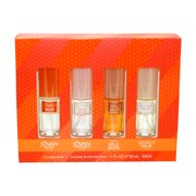 Coty Omni Collection 4 Pc. Gift Set ( Variety Cologne Spray 1.0 Oz Each Of Jovan Musk + White Musk + Wild Musk + Vanilla Musk )