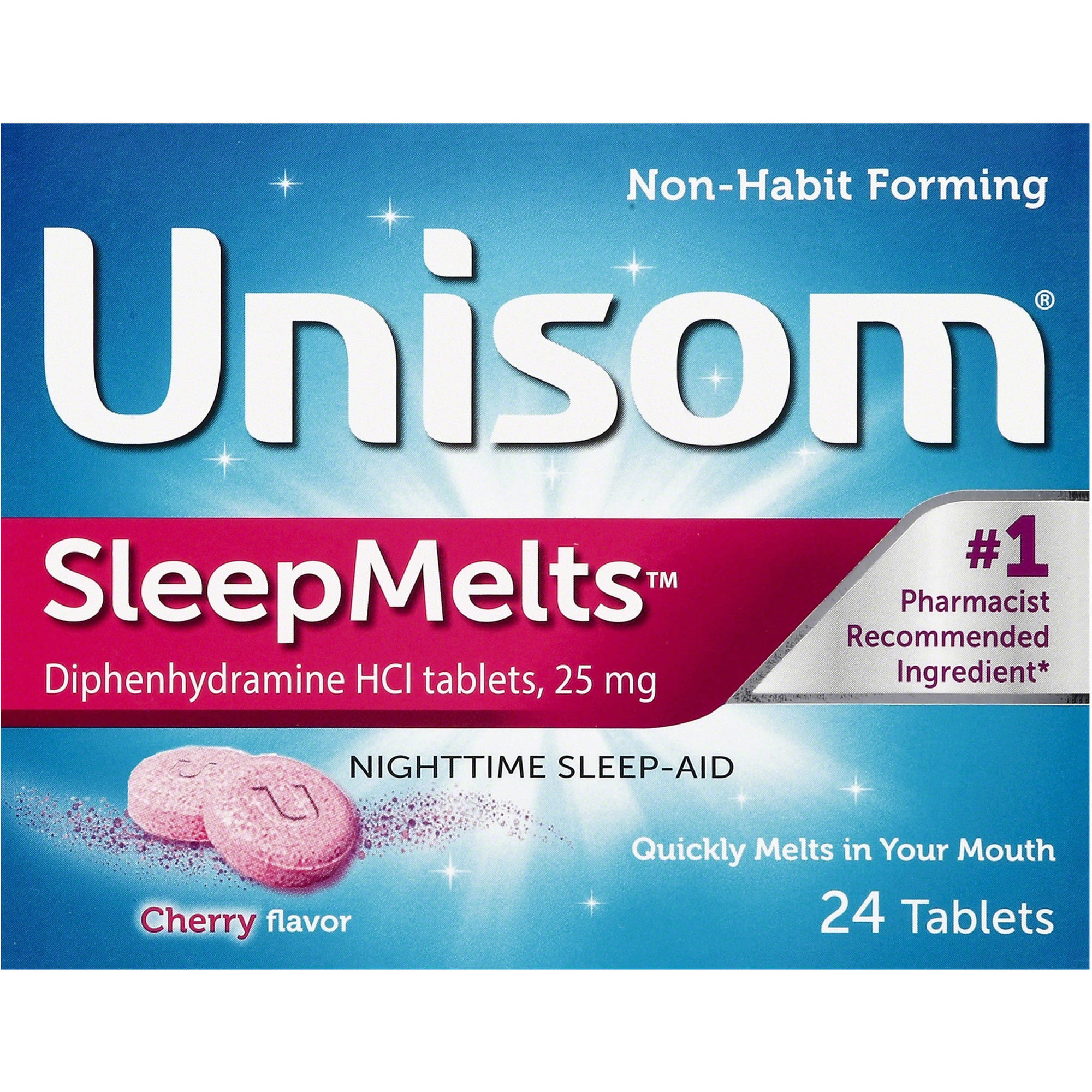 Unisom Sleepmelts, 24 count