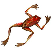 Eangee Home Design m7016 Frog Wall Decor, Red
