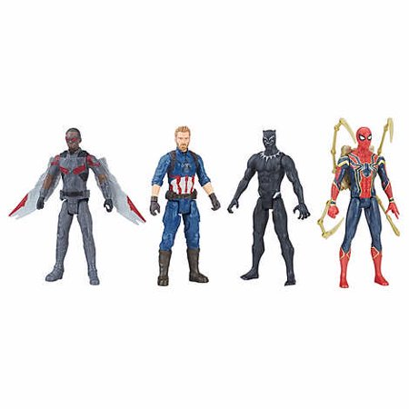 "Marvel Avengers Infinity War Titan Hero 12"" Figure 4-pack - Set 1"