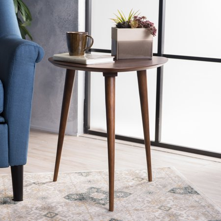 Noble House Wood End Table,Walnut ()