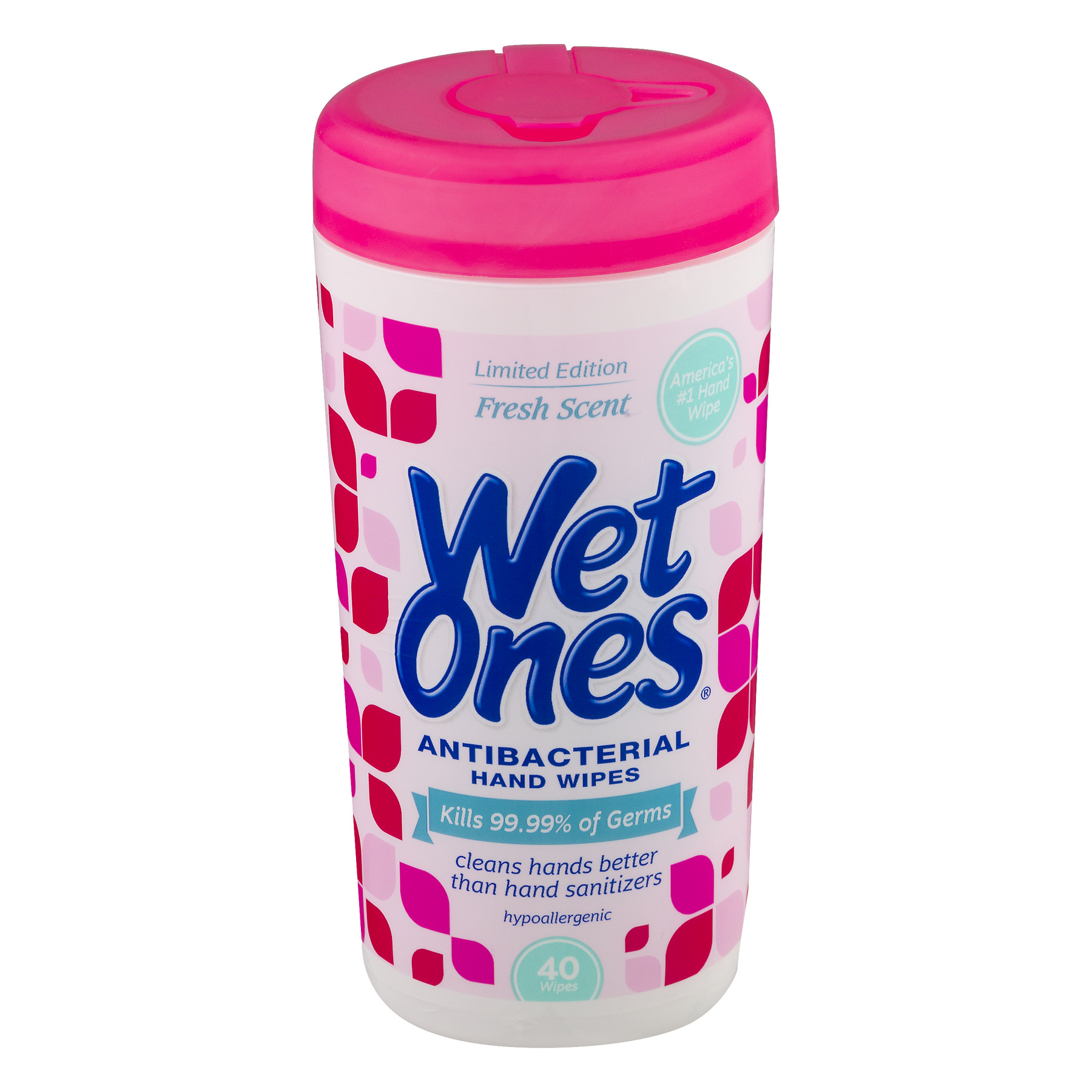 Wet Ones Antibacterial Hand Wipes Fresh Scent - 40 CT40.0 CT