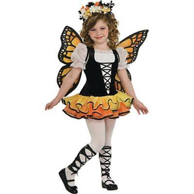 IN-MC2027MD Monarch Butterfly Girls Halloween Costume MEDIUM By Fun Express - Halloween Express Jobs